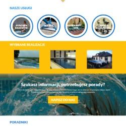 Strona www Basen i SPA aPool