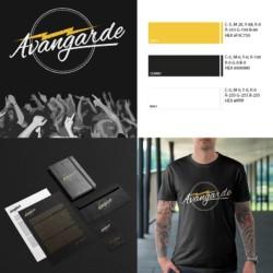 Logotyp zespołu muzycznego - Avangarde